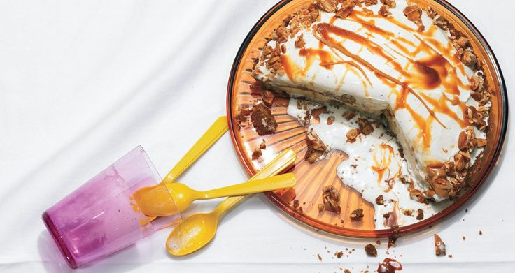 Ingredients SERVINGS: 8 TO 10 Caramel Sauce 3/4 cup whipping cream 1/2 vanilla bean, split lengthwise 2 tablespoons (1/4 stick) unsalted butter 1/4 teaspoon fine sea salt 3/4 cup sugar 1/3 cup wate...