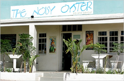 The Noisy Oyster - Paternoster, South Africa