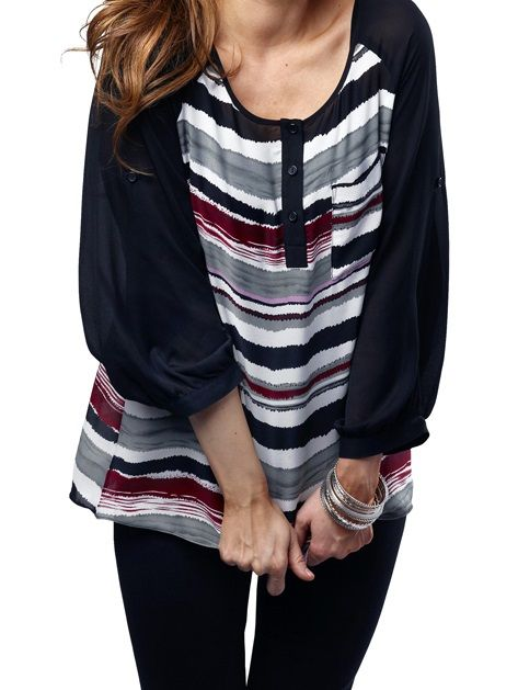 Massini Women's Georgette Tunic (in-stores only)