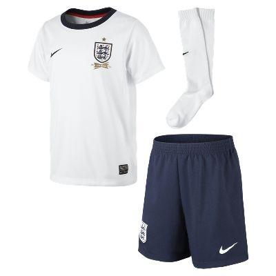 2013/14 England Replica (3y-8y) Little Boys' Football Kit - £40