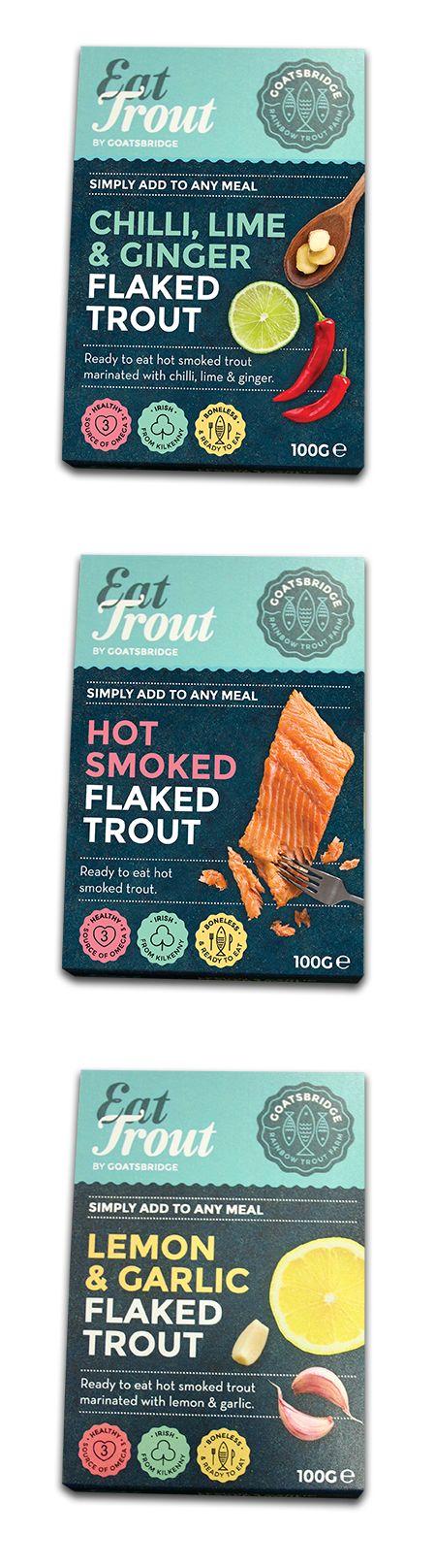 Eat Trout, Goastbridge.  Sleeves printed digitally by esmark finch.