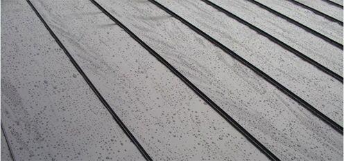 dakbedekking in lange strips