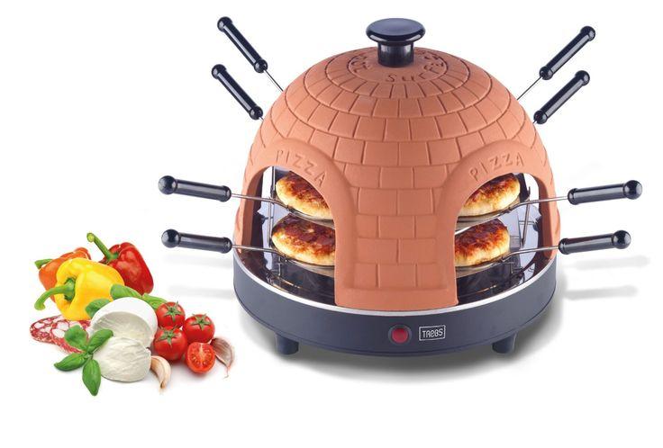 Trebs 99220 Four à Pizza pour 8 Personnes: Amazon.fr: Cuisine & Maison