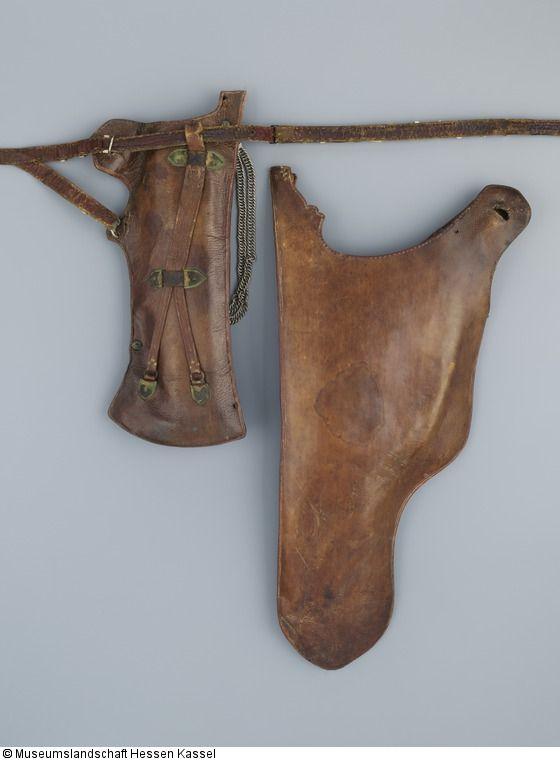 Bogenköcher (gehört zu einer Garnitur mit Pfeilköcher B XVII.357/1 und der Schutzhülle NT 55) - Katalog der Osmanischen Waffen der Museumslandschaft Hessen Kassel
