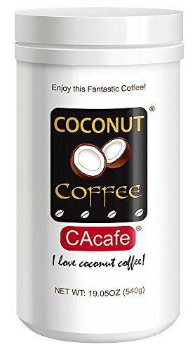 Cacafes Coconut Coffee in Jar #28528 (Cane Sugar Added) - http://mygourmetgifts.com/cacafes-coconut-coffee-in-jar-28528-cane-sugar-added/