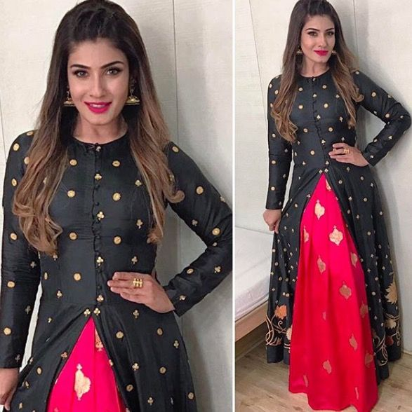 Raveena Tandon getting ready for Comedy Night With Kapil