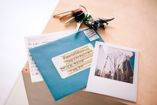 Polaroid Postcards -- This reminds me of the very start of the Postmarks Project (takemewithyou.org)
