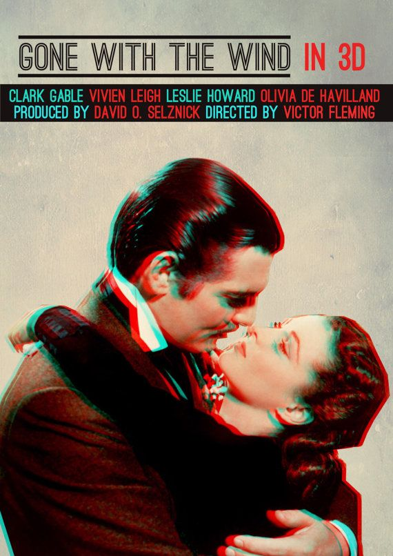 OMG - I simply cannot leave this earth without having seen GWTW in 3D!!!