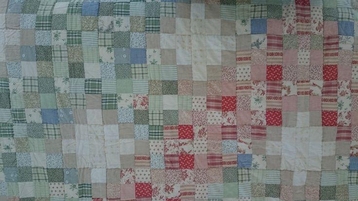 Patroon handgemaakte quilt nummer 9 | VIA CANNELLA WOONWINKEL | CUIJK