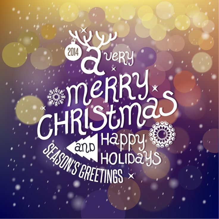 197 best christmas picture messages images on pinterest christmas seasons greetings christmas 2014 purple background vector m4hsunfo Choice Image