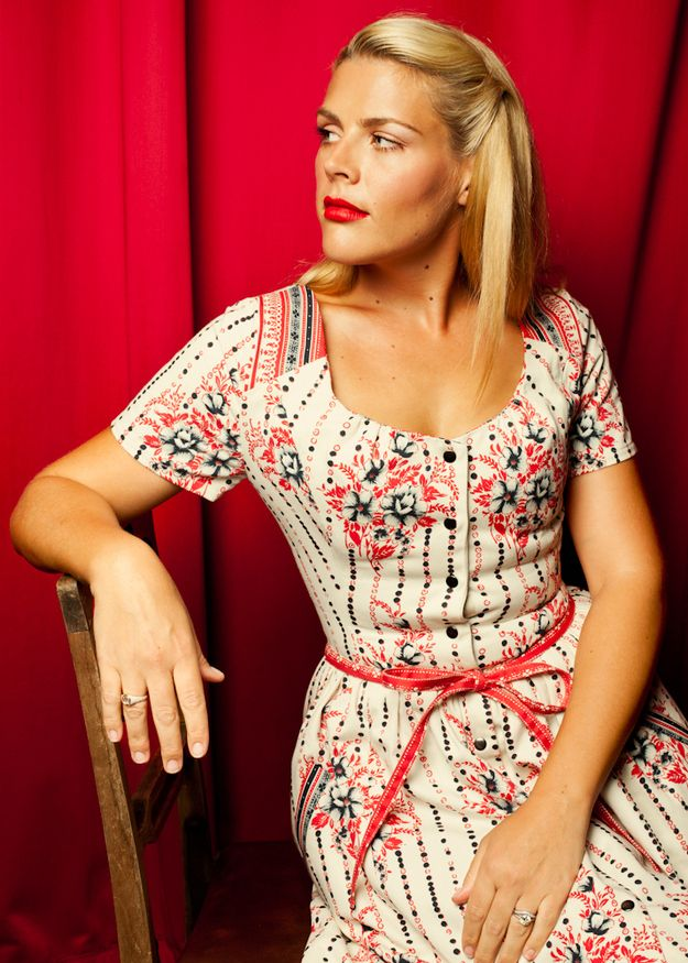 "Busy Philipps | 10 Whimsical Portraits Of Actors From ""The Thrilling Adventure Hour"""