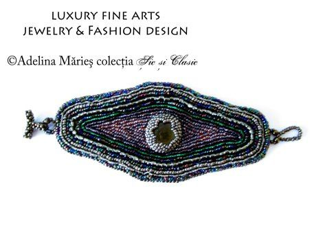 "Chic and classic collection by Adelina Maries, haute couture, luxury fashion, luxury handcrafts If you don`t know what chic is, than you are not chic. - ""Chic & Classic "" Romanian jewelry couture collection http://sicsiclasic.wordpress.com/ #Romania"