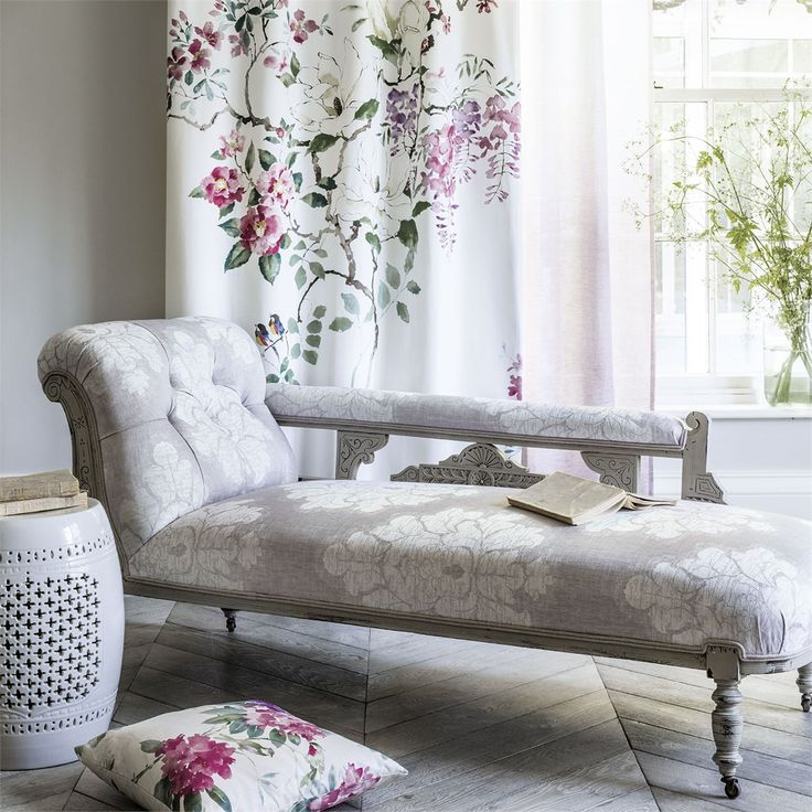 Trend | Magnolia & Blossom/Leaf by Sanderson Fabric | TM Interiors Limited