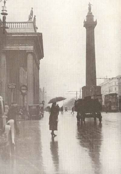 A rainly day in old Dublin