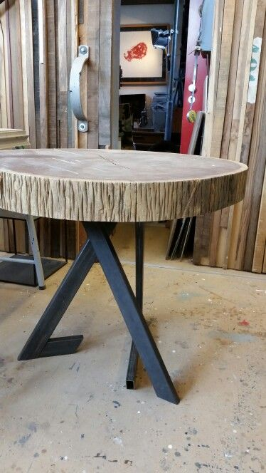 Wengé table by Kees Elffers