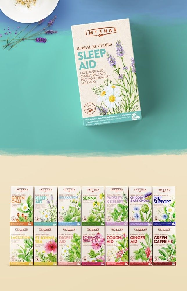 Imtenan Herbal Remedies on Packaging of the World - Creative Package Design Gallery