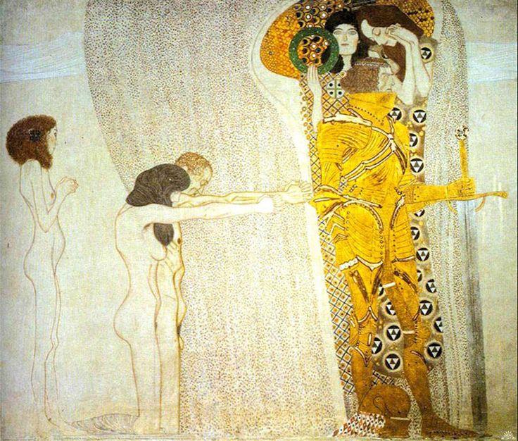 Models Recreating Gustav Klimt Golden Paintings – Fubiz Media