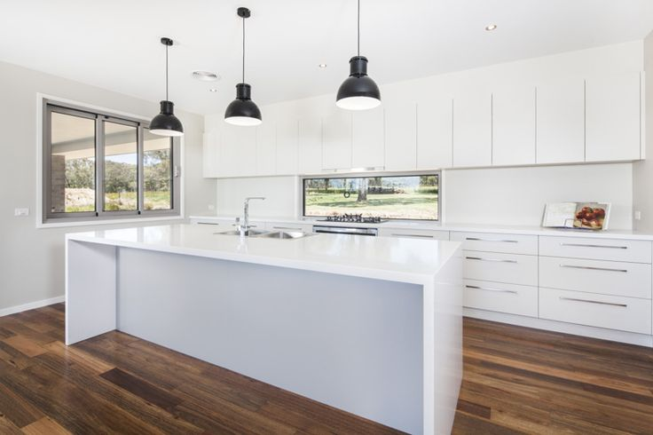 Kitchen with a view - modern meets country