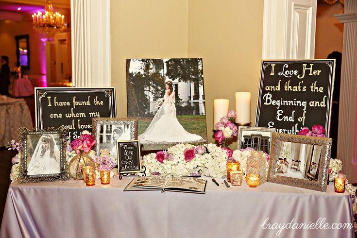 Great Gatsby Wedding! Welcome Table! Wedding Reception! Jillian & John Mark married at Nottoway Plantation, White Castle, LA. Reception at Nottoway Plantation, White Castle, LA. - Bray Danielle Photography • Baton Rouge Wedding Photographer