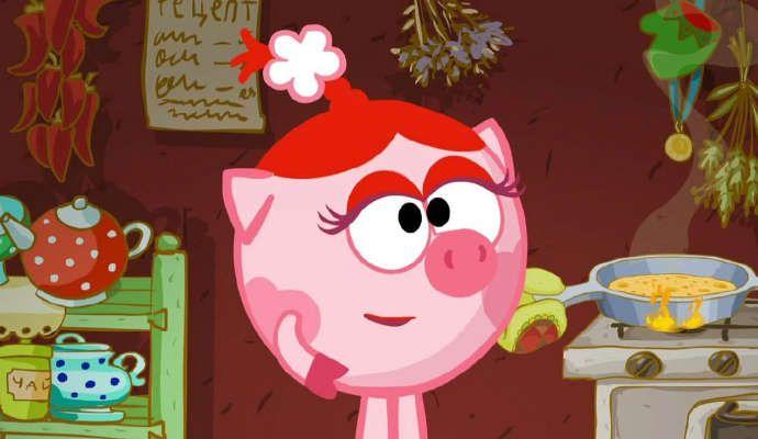 Мультфильм Смешарики 2D - Масленица смотреть в хорошем качестве