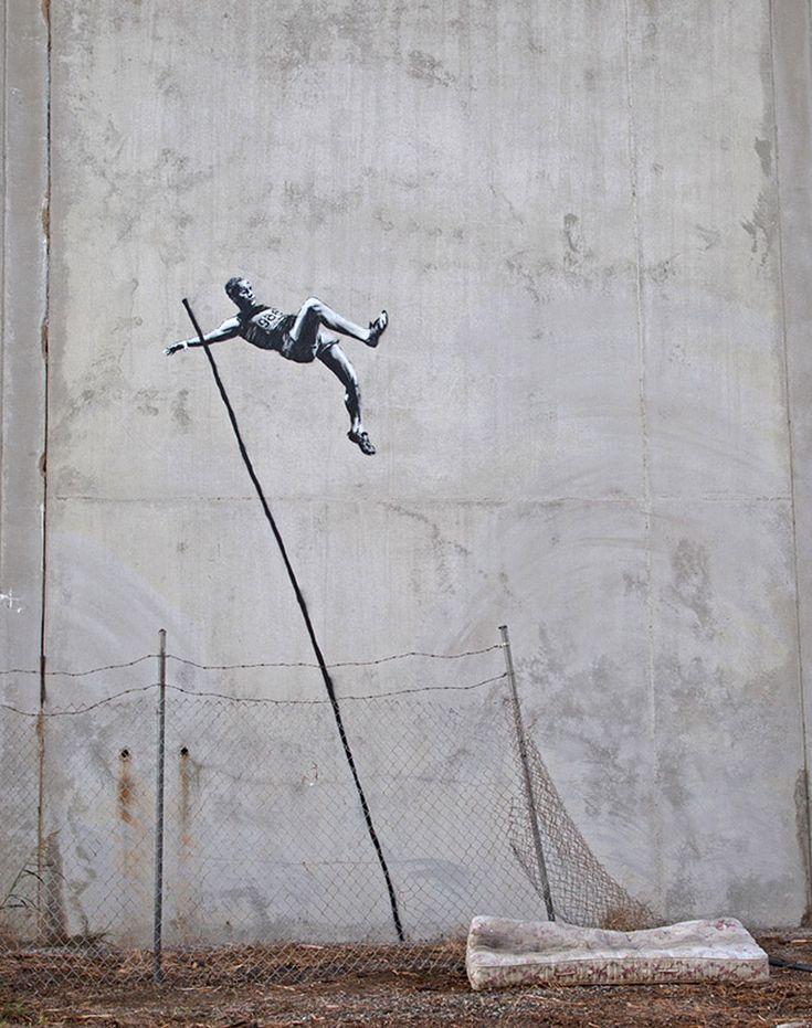 Banksy remixes the Olympics