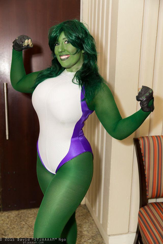 cosplay she hulk nude