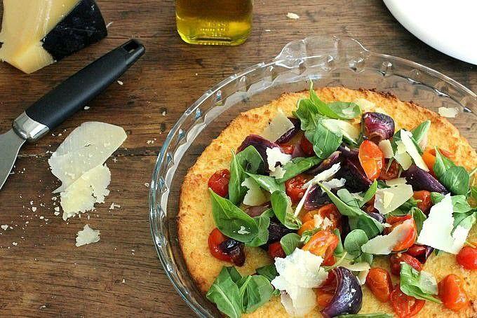 Ricota al horno con tomates y cebollas asadas - Cocina Central