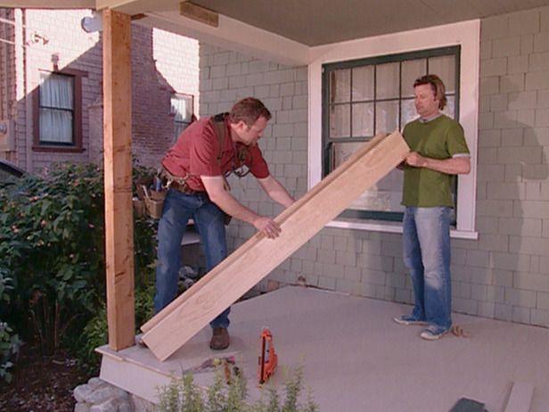 DIY porch column wraps and column repair