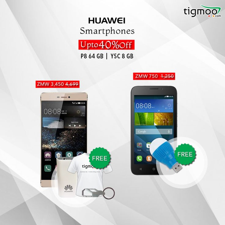 Save up to 40% on #Huawei Mobiles & get free Items at our #Tigmoo Zambia Online Store Hurry up Now! Offer Valid till 31st' Dec https://www.tigmoo.com/electronics/smartphones/huawei.html
