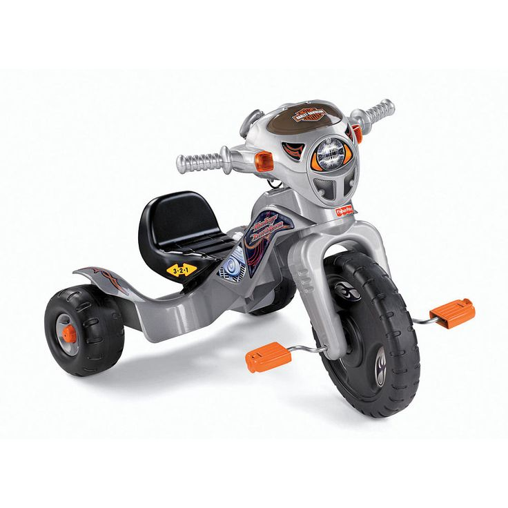 Fisher Price Harley Davidson Lights And Sounds Tricycle