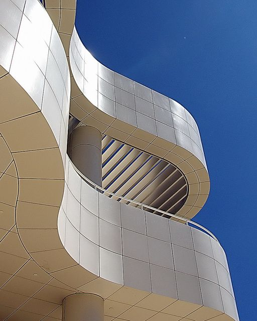 The Getty Center, Los Angeles - wonderful architecture, nice view on LA, & handsome artworks.
