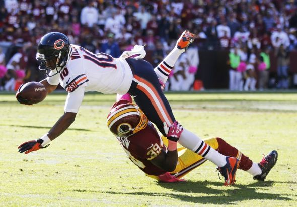 Chicago Bears: Fallout from Marquess Wilson Injury
