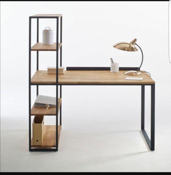 Remato escritorio de hierro y madera General Pueyrred - Adidum