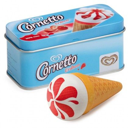 Strawberry Cornetto in a Tin