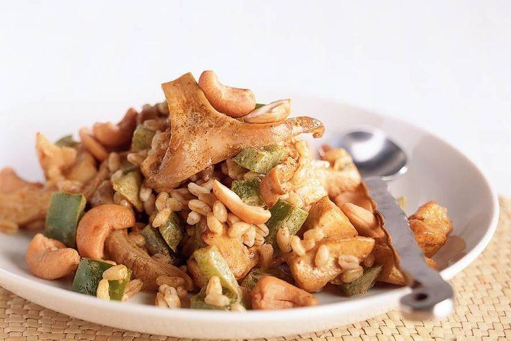 Tarly met kip en oesterzwammen - Recept - Allerhande