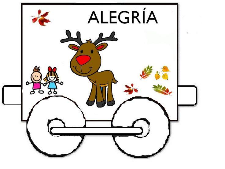 Trabajar la alegría   https://rincondeinfantil.wordpress.com/2012/09/09/la-alegria/