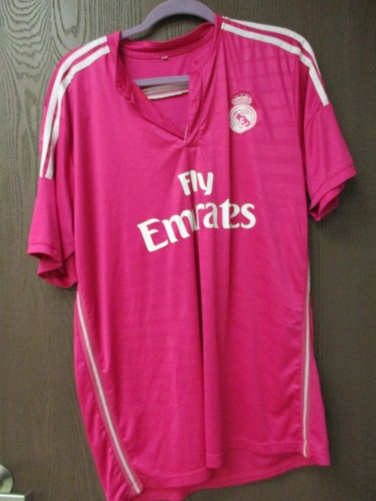 Men's 2014-2015 Real Madrid Emirates  Away Soccer Football Jersey XL  #RealMadrid #soccer #football #emriates #international