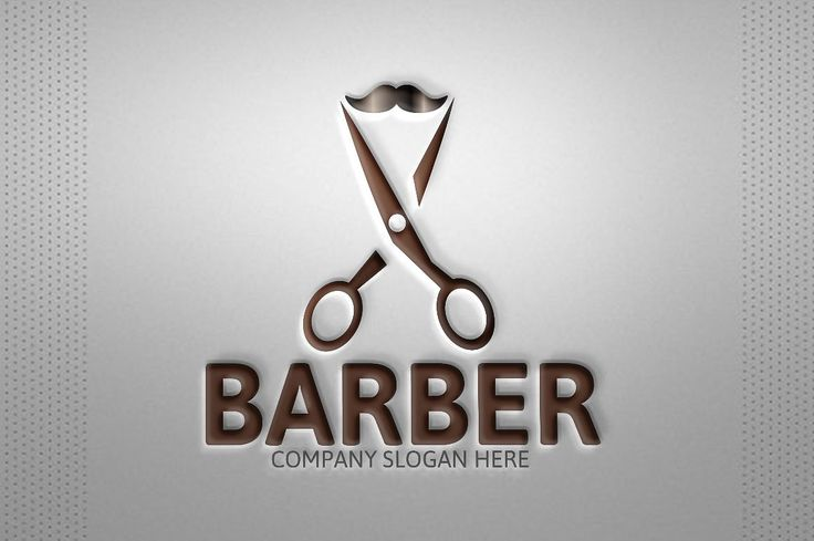 Barber Logo by Josuf Media on @creativemarket