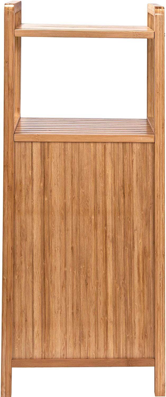 Butlers Big Bamboo Bad Regal Mit Waschekorb Aus Bambus 40x95 Cm