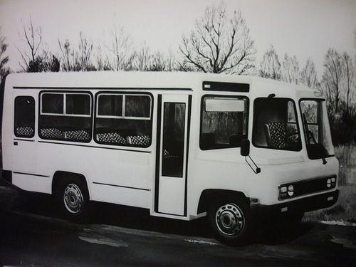 Опытный КаВЗ-3280.