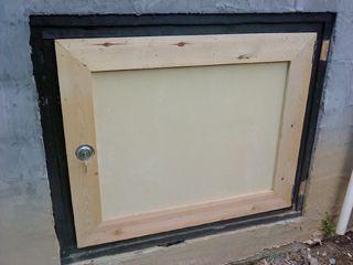 Charmant New Crawlspace Door