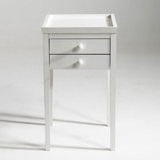 ALEX Solid Pine Bedside Table, 3 Finishes AM.PM.   La Redoute Mobile