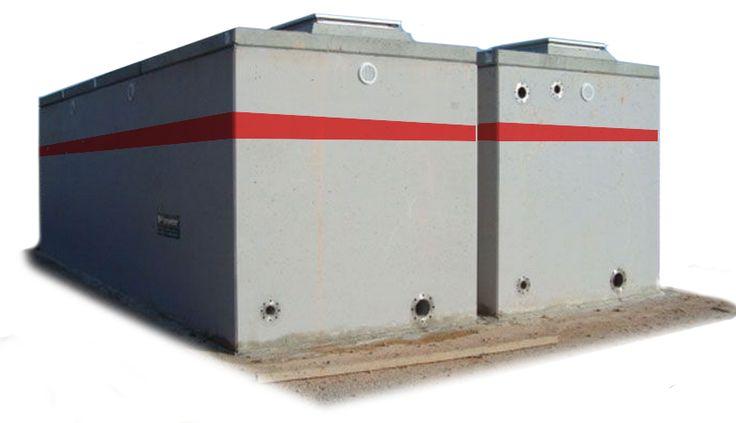 Cisterna de concreto monol tica prefabricada para agua for Cisternas de cemento