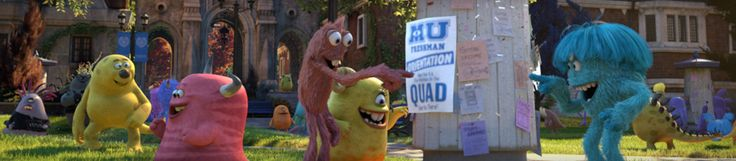 Monsters University Disney, I have found my future college, there is a whole website!