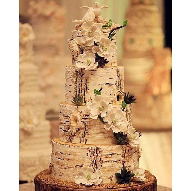 #mulpix Ideias de bolo de casamento!!  #rustico  Imagem Pinterest   #mae_festeira  #bolo  #bolodecasamento  #wedding  #weddingcake  #torta  #boda  #pastel