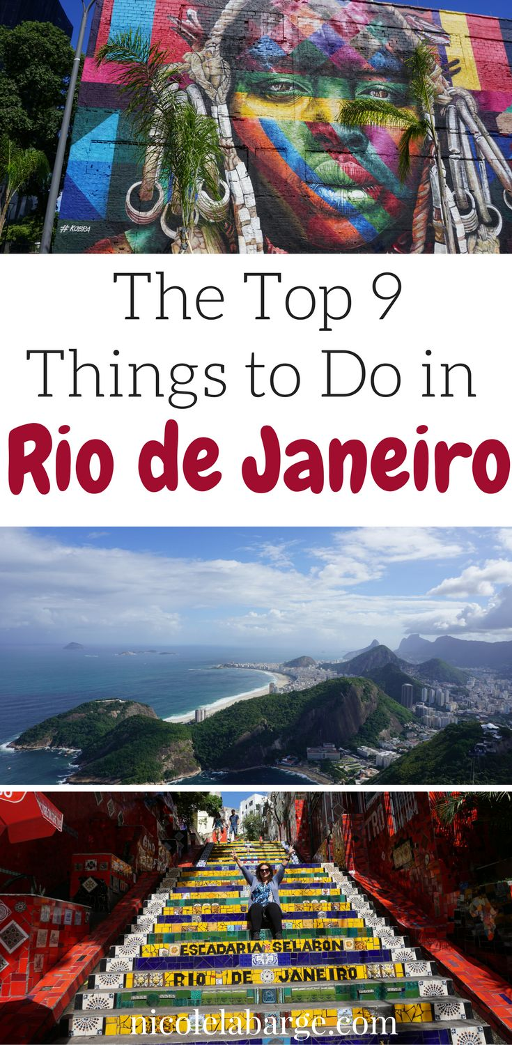 Check out these awesome things to do in Rio de Janeiro. Don't forget to save it to your Travel board so you can find it later. #RiodeJaneiro #brazil #southamerica