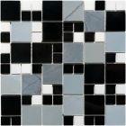Mozaika Dunin Black&White Delf Matrix 49 30.5x30.5 cm
