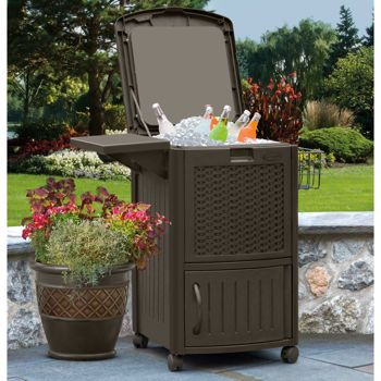 Costco Suncast 77 Quart Cooler Patio Cooler Outdoor
