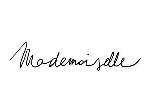 Mademoiselle, french, and quote image