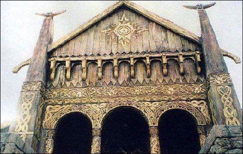 Council of Elrond » LotR News & Information » Rohan: Meduseld Decorating